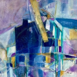 House of Blues II 18x18