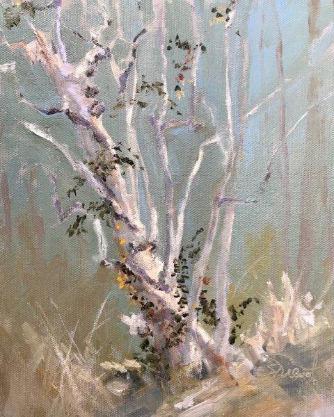 2017-1220 Living Forever, 10x8, oils on canvas panel, en plein air
