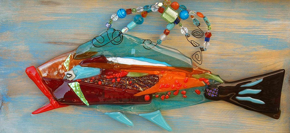 Introducing Grayton Beach Glass Artist Mary Hong