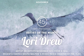 Lori Drew – Artist of the Month Reception!