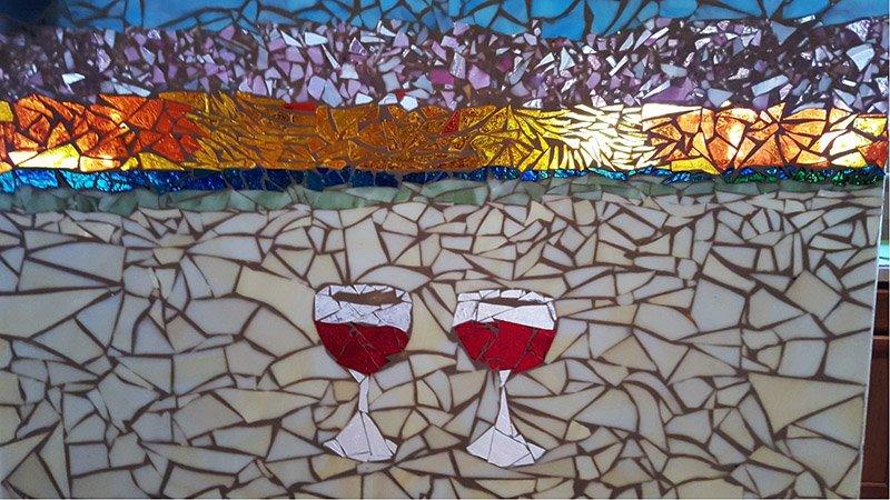 Surfside Mosaics Studio Open Friday Evening!