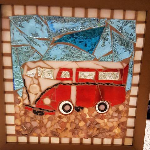 Surfside Mosaics Home Studio Open for First Friday Artwalk!