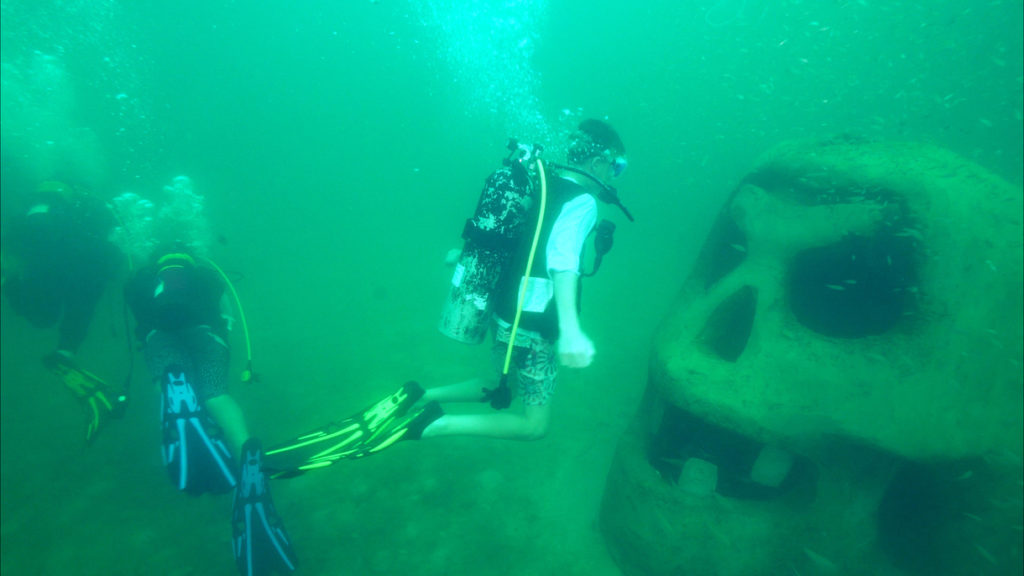 UNDERWATER MUSEUM OF ART NAMED TO  TIME MAGAZINE'S WORLD'S GREATEST PLACES 2018