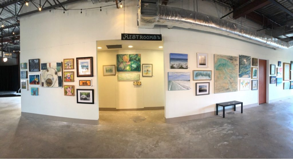 Pop-Up Gallery Opens at ECTC
