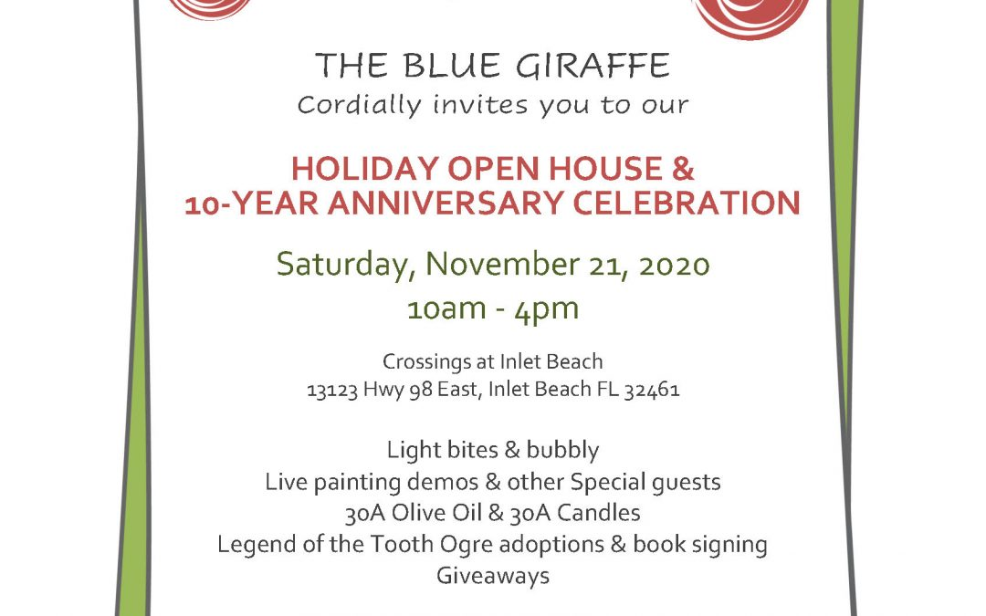 Holiday Open House at The Blue Giraffe