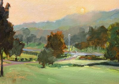 Franklin Morning View, 10x20 Oil
