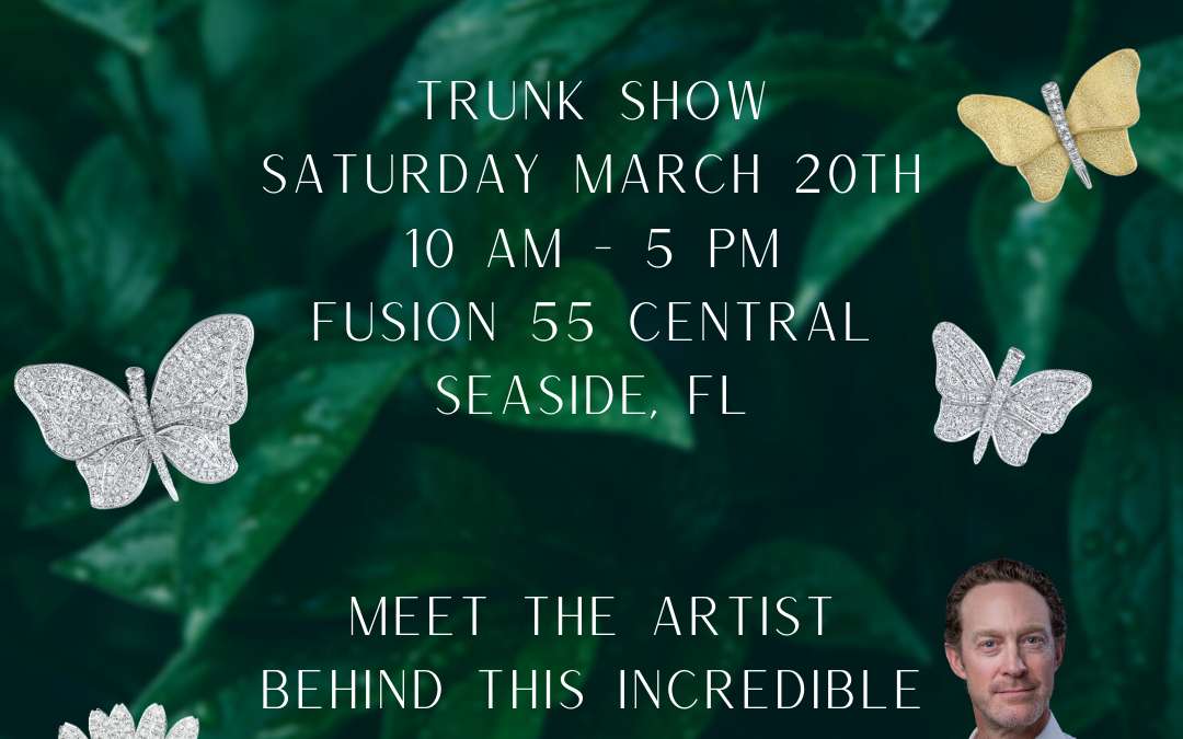 Aaron Henry Spring Trunk Show At Fusion Art Glass