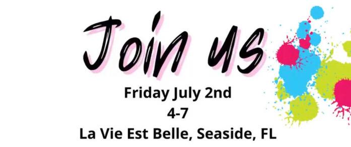 You're Invited to an Art Exhibit at La Vie Est Belle!