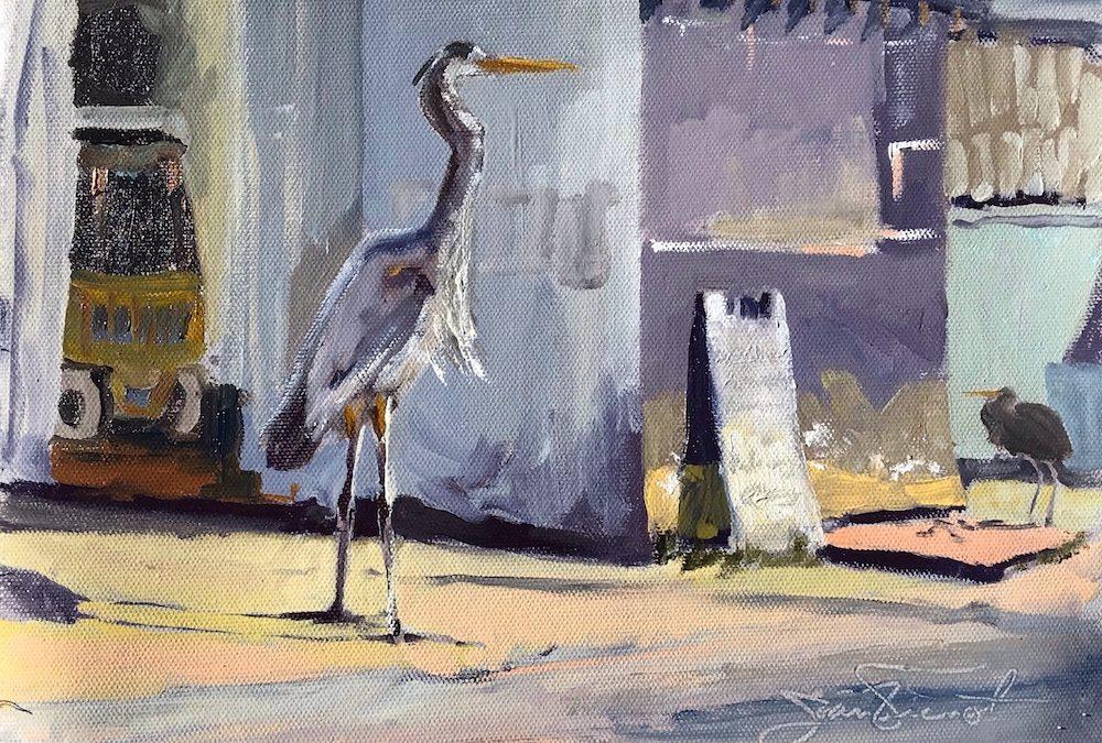 Art by Joan Vienot on Sale