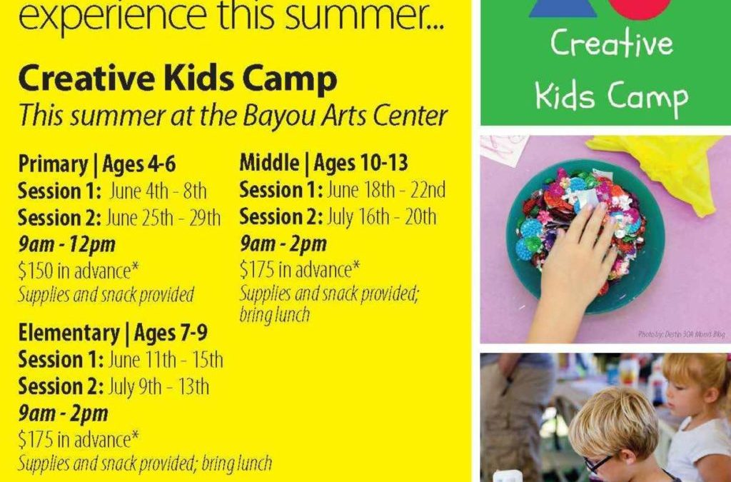 Creative Kids Camp at Cultural Arts Alliance