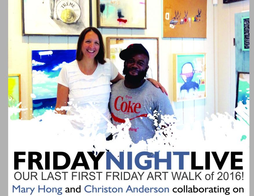 Friday Night Live at Mary Hong Studio